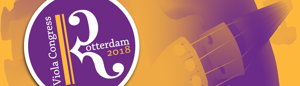45th International Viola Congress, Rotterdam 2018